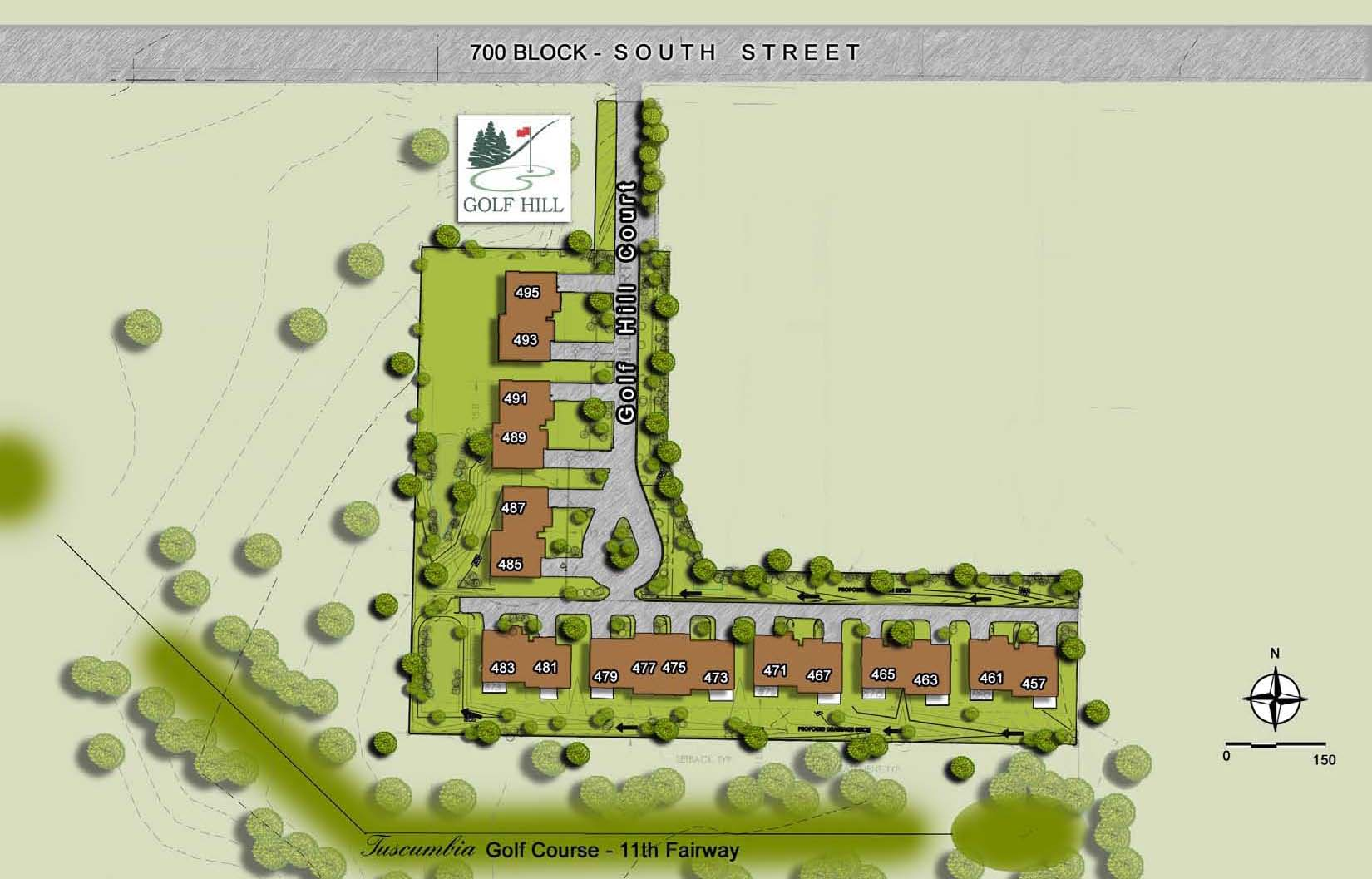 Golf Hill Site Plan